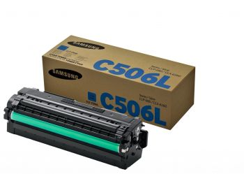 Samsung C506L High Capacity Cyan Toner Cartridge (CLT-C506L/ELS)