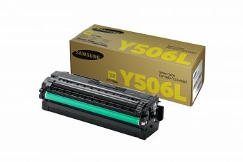 Samsung Y506L High Capacity Yellow Toner Cartridge (CLT-Y506L/ELS)