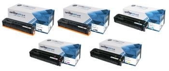 Compatible HP 410A 5 Colour Toner Cartridge Multipack