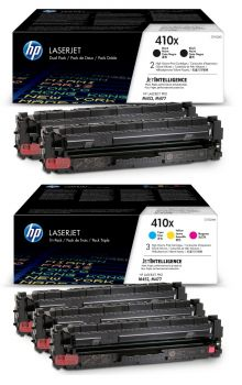 HP 410X 5 Colour High Capacity Toner Cartridge Multipack