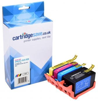 Compatible HP 903XL 4 Colour Ink Cartridge Multipack (3HZ51AE)