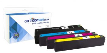 Compatible 4 Colour High Capacity HP 973X Ink Cartridge Multipack - (L0S07AE/F6T81AE/F6T82AE/F6T83AE)