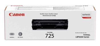 Canon 725 Black Toner Cartridge - (3484B002AA)