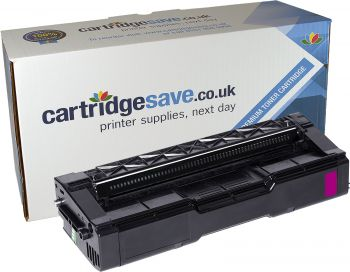 Compatible Ricoh Type SPC220E Magenta Toner Cartridge - (406100)