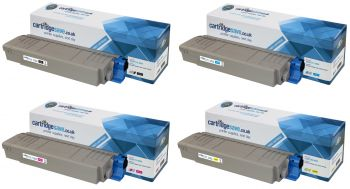 Compatible Oki 43698501 4 Colour Toner Cartridge Multipack