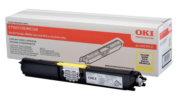 OKI 44250721 High Capacity Yellow Toner Cartridge