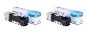 Compatible Dell 899WG High Capacity Twin Pack Black Toner Cartridge - (593-11035)