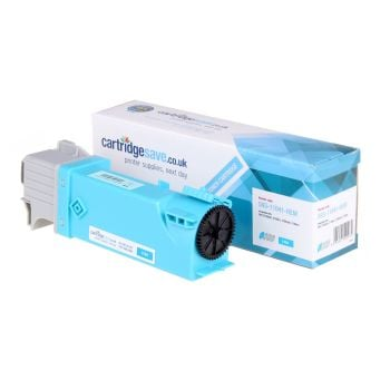 Compatible Dell THKJ8 High Capacity Cyan Toner Cartridge - (593-11041)