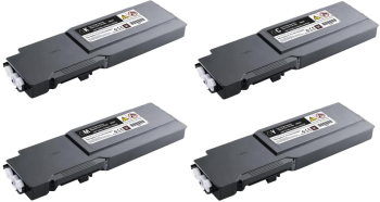 Dell 593-1112 4 Colour Extra High Capacity Toner Cartridge Multipack