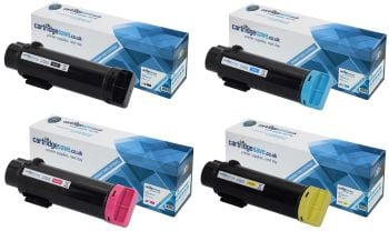 Compatible Dell 593-BBS 4 Colour High Capacity Toner Cartridge Multipack