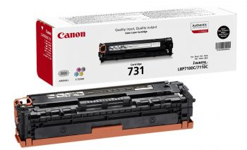 Canon 731 Black Toner Cartridge - (6272B002)
