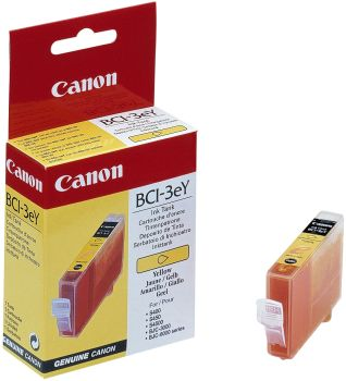 Canon BCI-3eY Yellow Ink Cartridge - (4482A002)