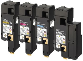 Epson S05061 High Capacity 4 Colour Toner Cartridge Multipack - (C13S050614/3/2/1)
