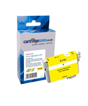 Compatible Epson T1304 Extra High Capacity Yellow Printer Cartridge - (T1304 Stag)