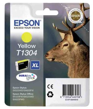 Epson T1304 Extra High Capacity Yellow Ink Cartridge - (Stag)