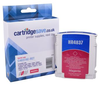 Compatible HP 11 Magenta Printer Cartridge - (C4837AE)