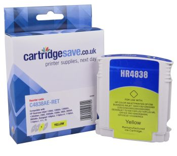 Compatible HP 11 Yellow Printer Cartridge - (C4838AE)