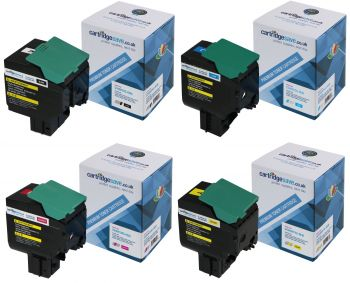 Compatible Lexmark C540H1 High Capacity 4 Colour Multipack