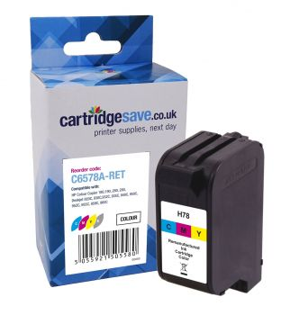 Compatible HP 78XL High Capacity Tri-Colour Printer Cartridge - (C6578AE)