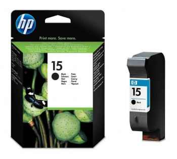 HP 15XL High Capacity Black Ink Cartridge - (C6615DE)