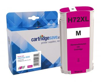 Compatible HP 72 High Capacity Magenta Ink Cartridge - (C9372A)