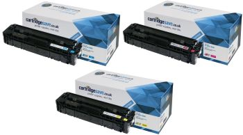 Compatible HP 201X High Capacity 3 Colour Toner Cartridge Multipack (CF253XM)