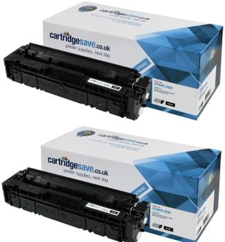 Compatible HP 201X High Capacity Black Twin Pack (CF400XD)