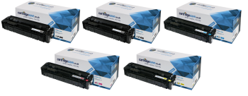 Compatible HP 201X High Capacity Colour Toner Cartridge Multipack