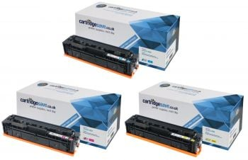 Compatible HP 203X High Capacity 3 Colour Toner Cartridge Multipack