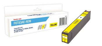 Compatible HP 973X High Capacity Yellow Ink Cartridge - (F6T83AE)