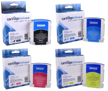 Compatible HP 10 / HP 11 4 Colour Ink Cartridge Multipack