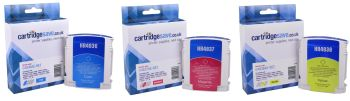 Compatible HP 11 3 Colour Ink Cartridge Multipack