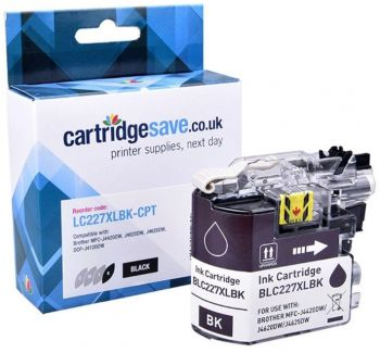 Compatible Brother LC227XL High Capacity Black Ink Cartridge (LC227XLBK)