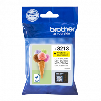 Brother LC3213Y High Capacity Yellow Ink Cartridge
