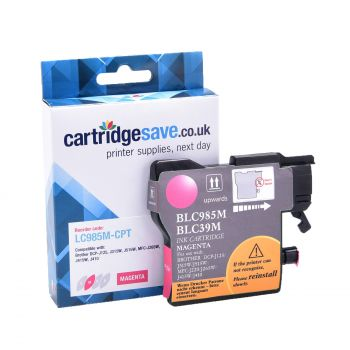 Compatible Brother LC985M Magenta Ink Cartridge