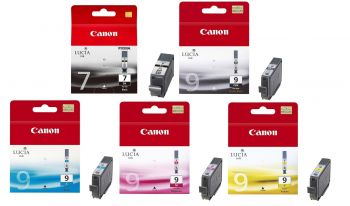 Canon PGI-7 & PGI-9 5 Colour Ink Multipack