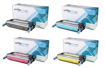 Compatible HP 643A 4 Colour Toner Cartridge Multipack