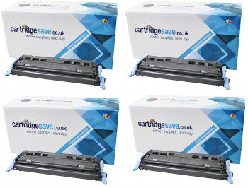 Compatible HP 124A 4 Colour Toner Cartridge Multipack