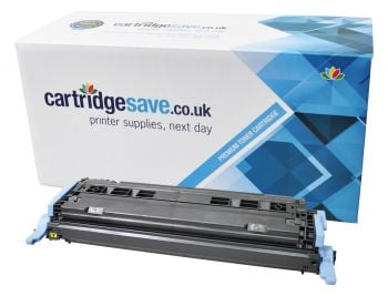 Compatible HP 124A Yellow Toner Cartridge - (Q6002A)