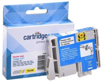 Compatible Epson T0484 Yellow Printer Cartridge - (C13T048440 Seahorse)