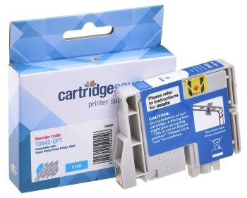 Compatible Epson T0542 Cyan Ink Cartridge - (C13T054240 Frog)