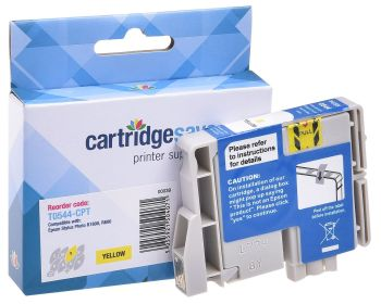 Compatible Epson T0544 Yellow Printer Cartridge - (C13T054440 Frog)