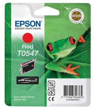 Epson T0547 Red Ink Cartridge - (C13T054740 Frog)
