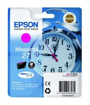 Epson 27 Magenta Ink Cartridge - (T2703 Alarm Clock)