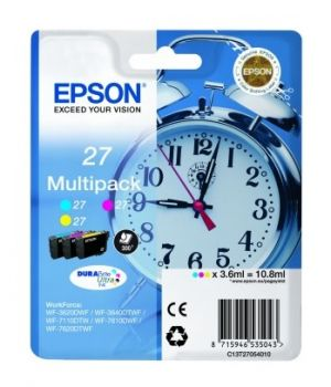 Epson 27 3 Colour Ink Cartridge - (T2705 Alarm Clock)