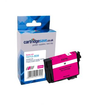 Compatible Epson 27XL High Capacity Magenta Ink Cartridge - (T2713 Alarm Clock)