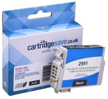 Compatible Epson 29 Black Ink Cartridge - (T2981 Strawberry)