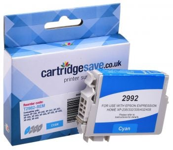 Compatible Epson 29 Cyan Ink Cartridge - (T2982 Strawberry)