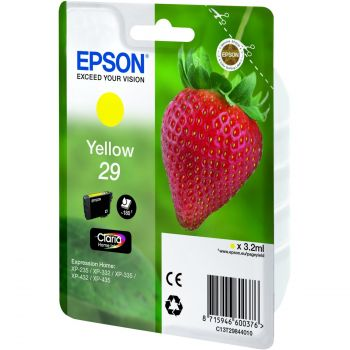 Epson 29 Yellow Ink Cartridge - (T2984 Strawberry)