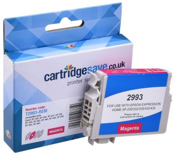 Compatible Epson 29XL Magenta High Capacity Ink Cartridge - (T2993 Strawberry)